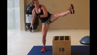 Jump Rope Interval Circuit Workout Video