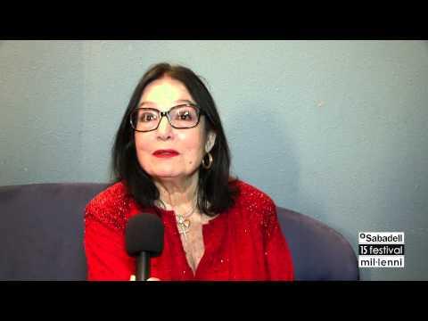 Nana Mouskouri - Interview (15è BS Festival Mil·lenni)
