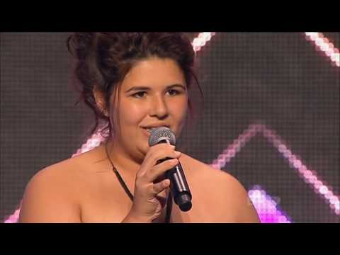 Xfactor 2012 Aus Auditions Shiane Hawke sings Begging you for mercy