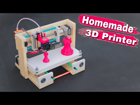 How To Make 3D Printer at Home | Arduino Project