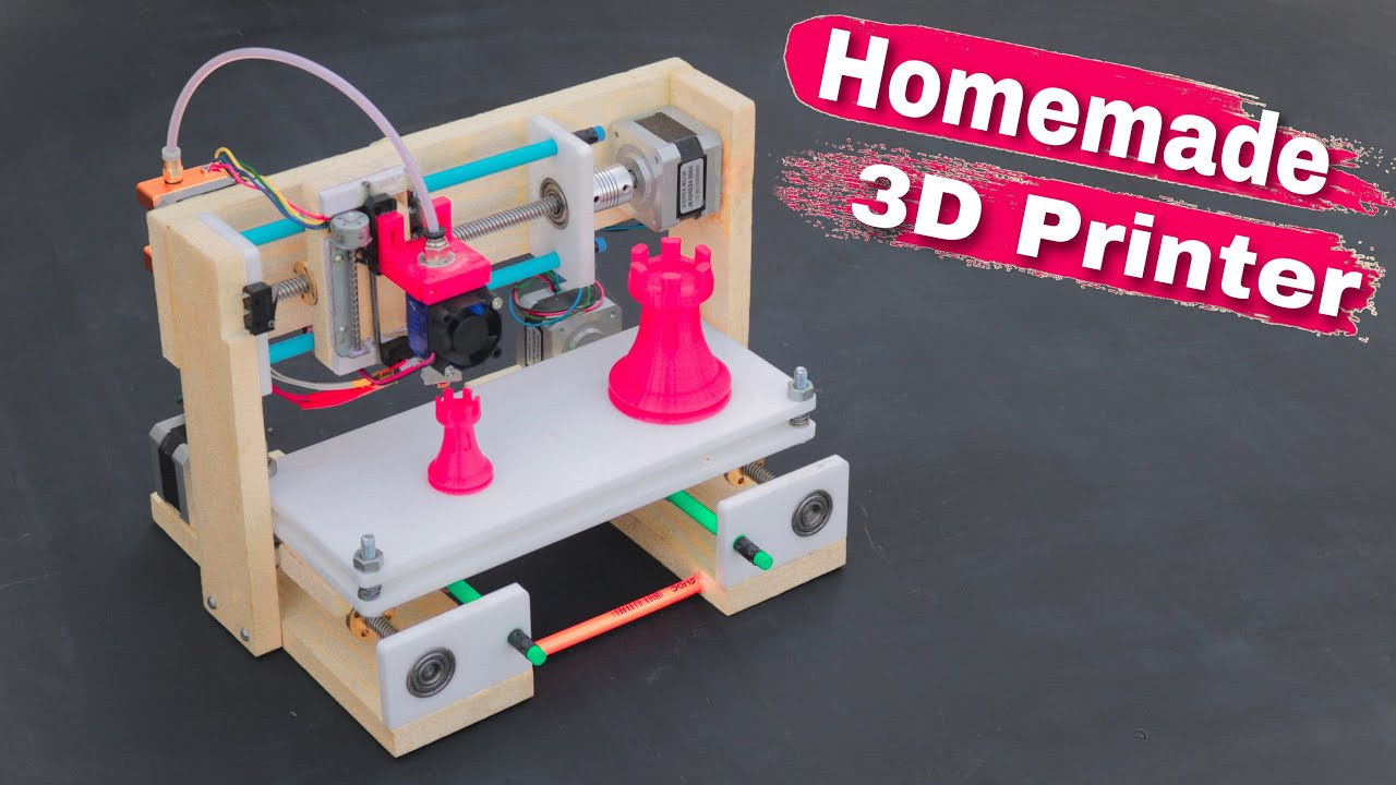 How To Make 3d Printer At Home