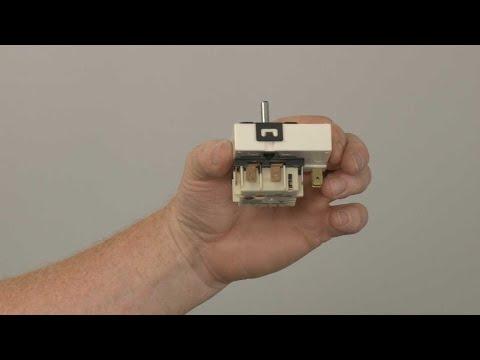 Left Front Surface Element Switch - Kitchenaid Electric Slide-In Range Model #KSEB900ESS2