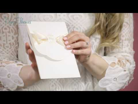 PaperThemes Regal Beauty Wedding Invitation
