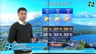Public Weather Forecast Issued at 4:00 AM May 03, 2018