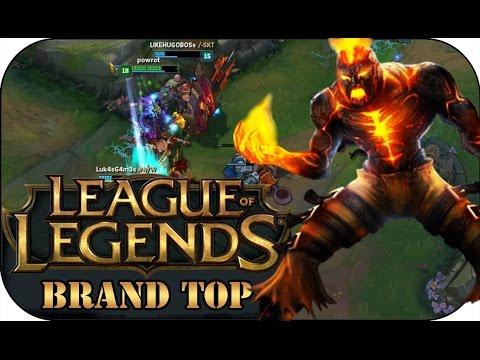 ER KANN JEDEN ZERSTÖREN! BRAND TOP | League of Legends Gameplay deutsch
