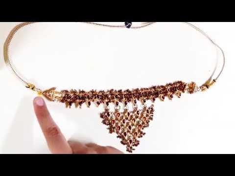 कुंदन का हार कैसे बनाते हैं  How to make kundan jewellery /how to make necklaces