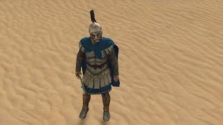 Воин Бактрии VS Фландрийский (Голландия) рыцарь