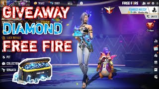 Download lagu 🔴 [LIVE] BAGI BAGI DIAMOND FREE FIRE 💎💎