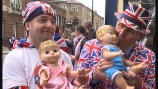 Celebrations Greet Royal Birth of Baby Boy in UK