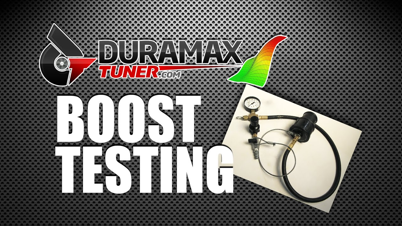 How much boost should my stock Duramax turbo make?