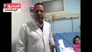 بالفيديو.... طبيب الطفلة حبيبة: الحالة مستقرة بعد علاجها من أطباء مخ وعظام