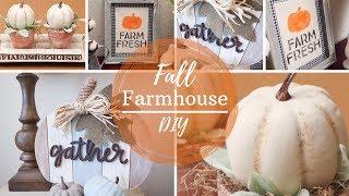Fall Farmhouse DIY | Fall Decor