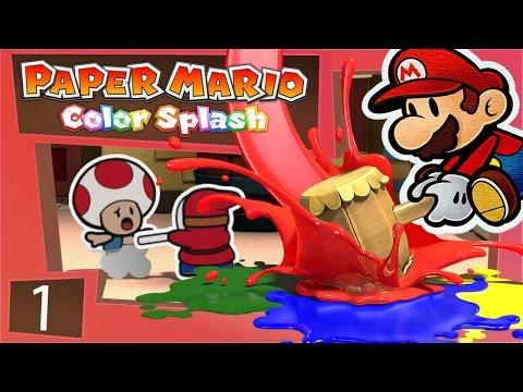 PAPER MARIO COLOR SPLASH! Cannibal Shy Guy!