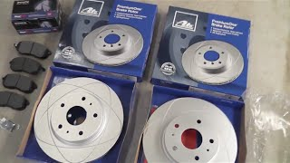 Suzuki SX4 front Rotors and brake pads replacement