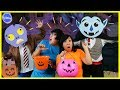 Halloween Trick or Treat Music Video Dance Off Battle Challenge ! Girls Vs. Boys !