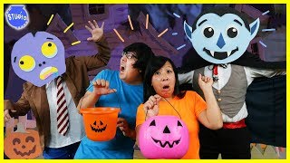 Baixar Halloween Trick or Treat Music Video Dance Off Battle Challenge ! Girls Vs. Boys !
