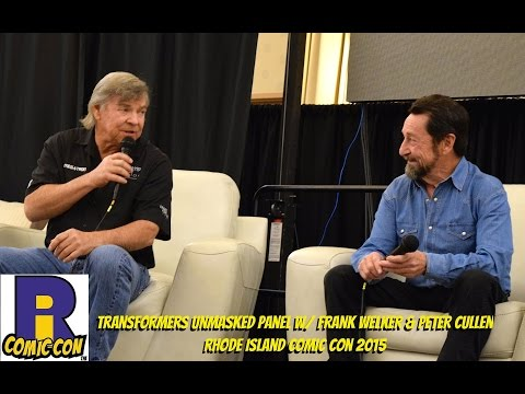 Frank Welker & Peter Cullen - Rhode Island Comic Con 2015