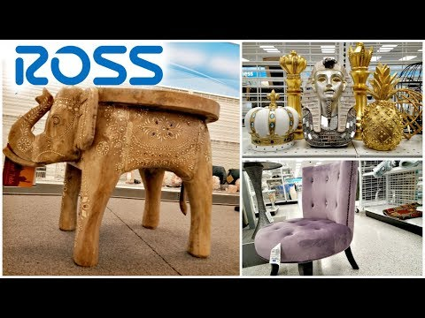 Shop With Me Ross Clothing shoes Decor Walk Through March 2018