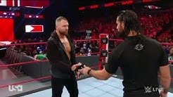 Paul Heyman And Dean Ambrose Confronts Seth Rollins - 11 February 2019 Monday Night Raw