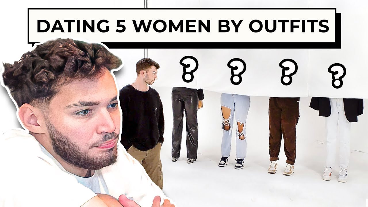 Adin Ross Blind Dating 5 Girls Based On Their Outfits
