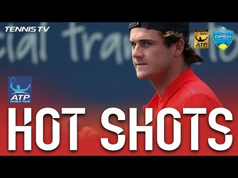 Hot Shot: Tommy Paul Finishes Match In Hot Shot Style In Cincinnati 2017 On Monday