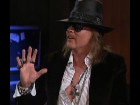 Guns N' Roses Axl Rose Talks About Reuniting With Duff McKagan & How Duff McKagan Saved Axl!