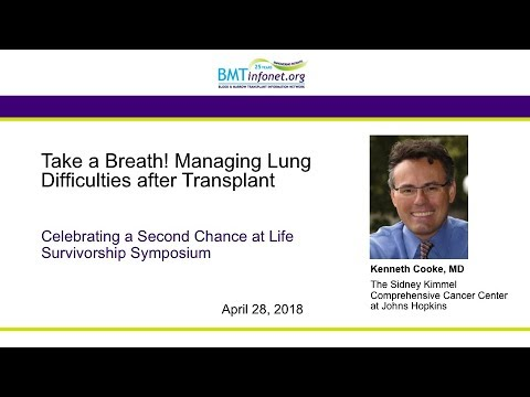 Take a Breath: Managing Breathing Problems after Transplant