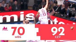 KUP RADIVOJA KORAĆA: Crvena zvezda mts - Mega Bemax 92:73 | Pregled utakmice