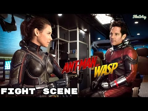 AntMan and The Wasp  Wasp Fight Scene  New Movie Clip  2018
