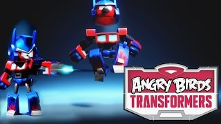 Angry Birds Transformers - Optimus Prime Transformation Analysis