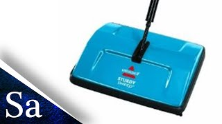 Review, Unboxing and Setup of the Bissell Floor Cleaner, Are manual carpet sweepers any good?