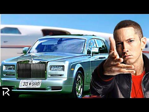 How Eminem Spent A Quarter Billion Dollars!