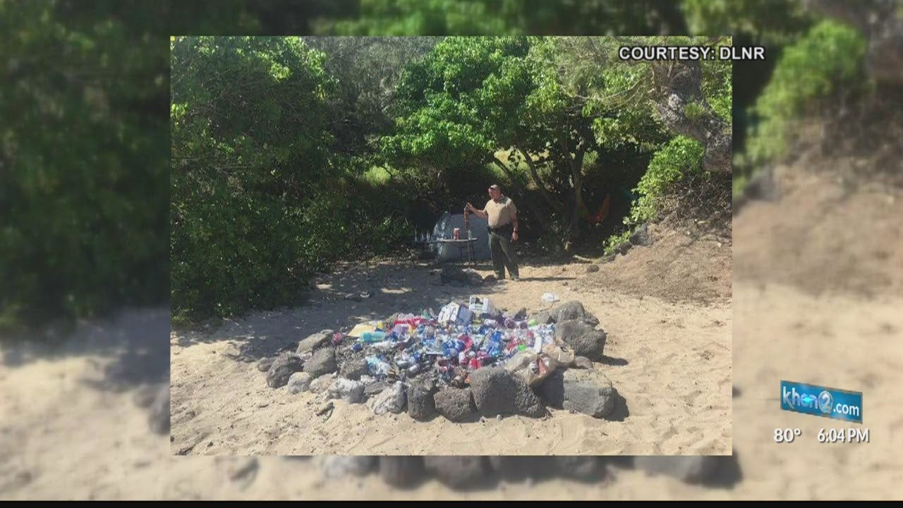 Large beach gatherings leave trash and break emergency rules
