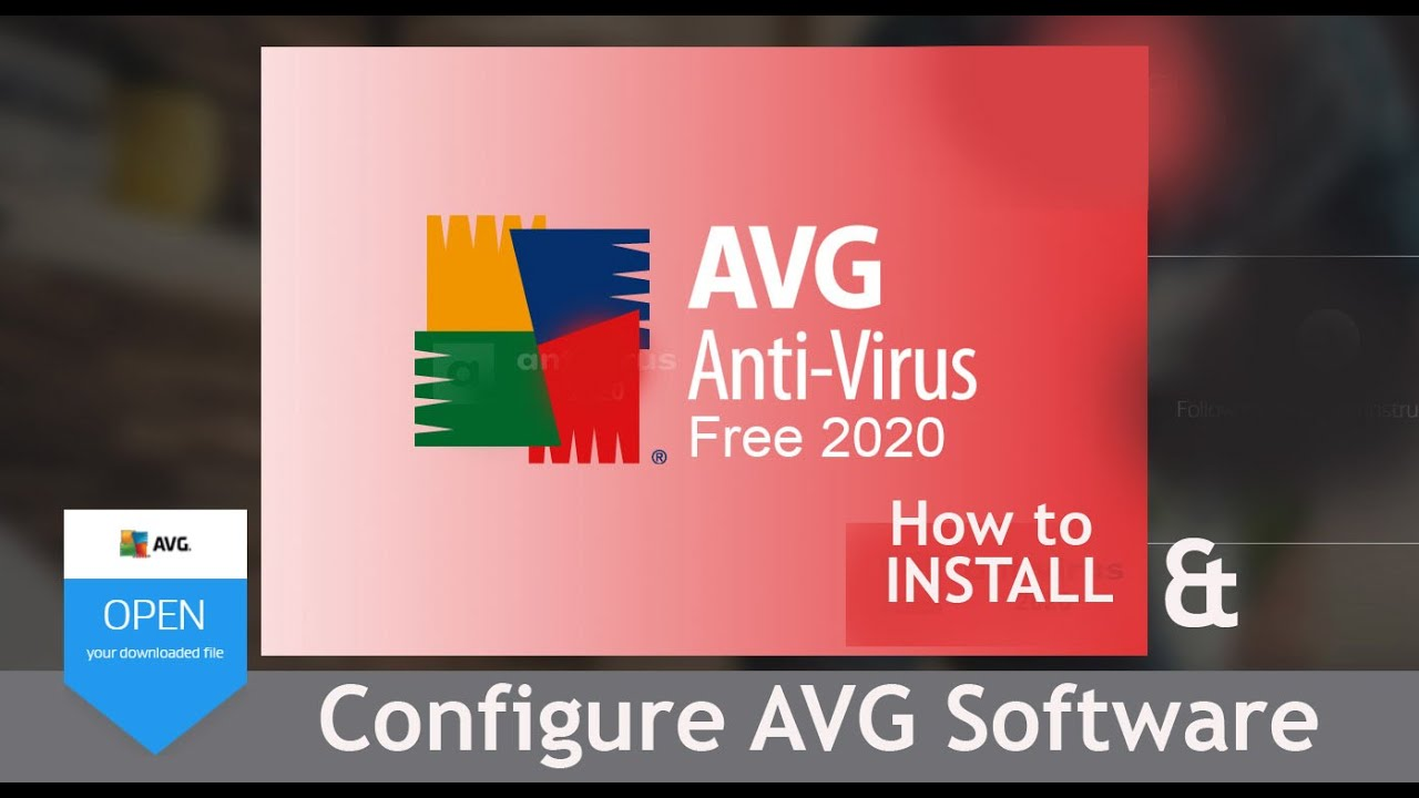 AVG Free Antivirus Configuration