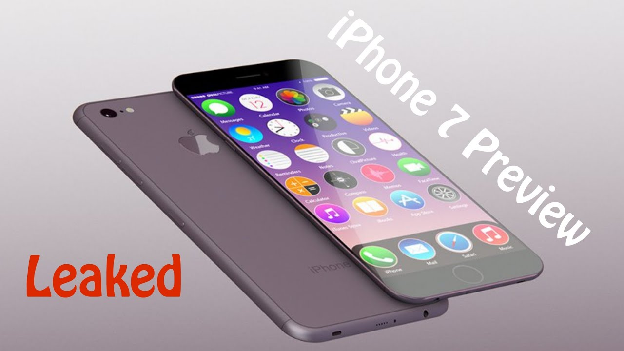 is the iphone 7 out iphone 7 preview apple leaked 1289