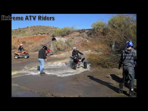 ATV Riding Queen Valley AZ Montana Loop 1.24.2010 - Extreme ATV Riders