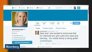 Yahoo CEO Mayer: Twin Girls Born Early This Morning