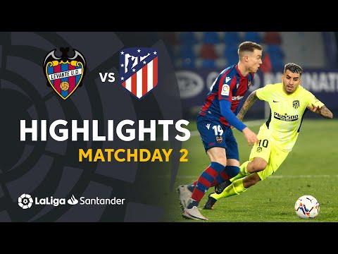 Highlights Levante UD vs Atlético de Madrid (1-1)