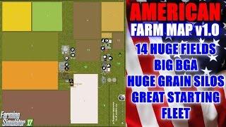 Farming Simulator - American Farm Map v1.0