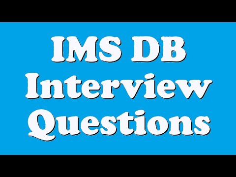IMS DB Interview Questions