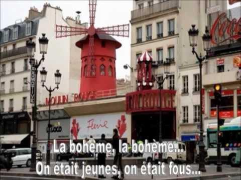 La bohème de Charles Aznavour avec paroles KAIS REGAIEG