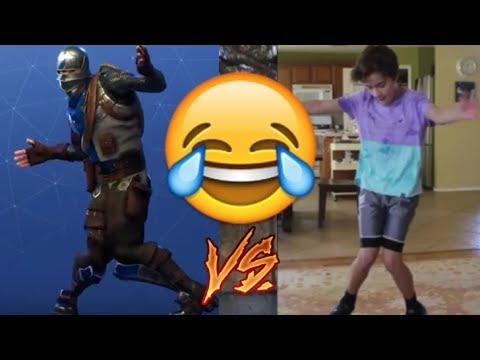 LEARNING THE FORTNITE DANCE IN REAL LIFE!