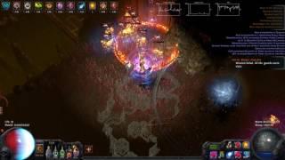 POE 2.4 ESC - Grand Spectrum Flameblast t16 Minotaur, Double Beyond