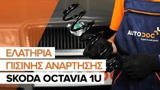 Πώς αλλαζω Ελατήρια ανάρτησης SKODA OCTAVIA (1U2) - δωρεάν διαδικτυακό βίντεο