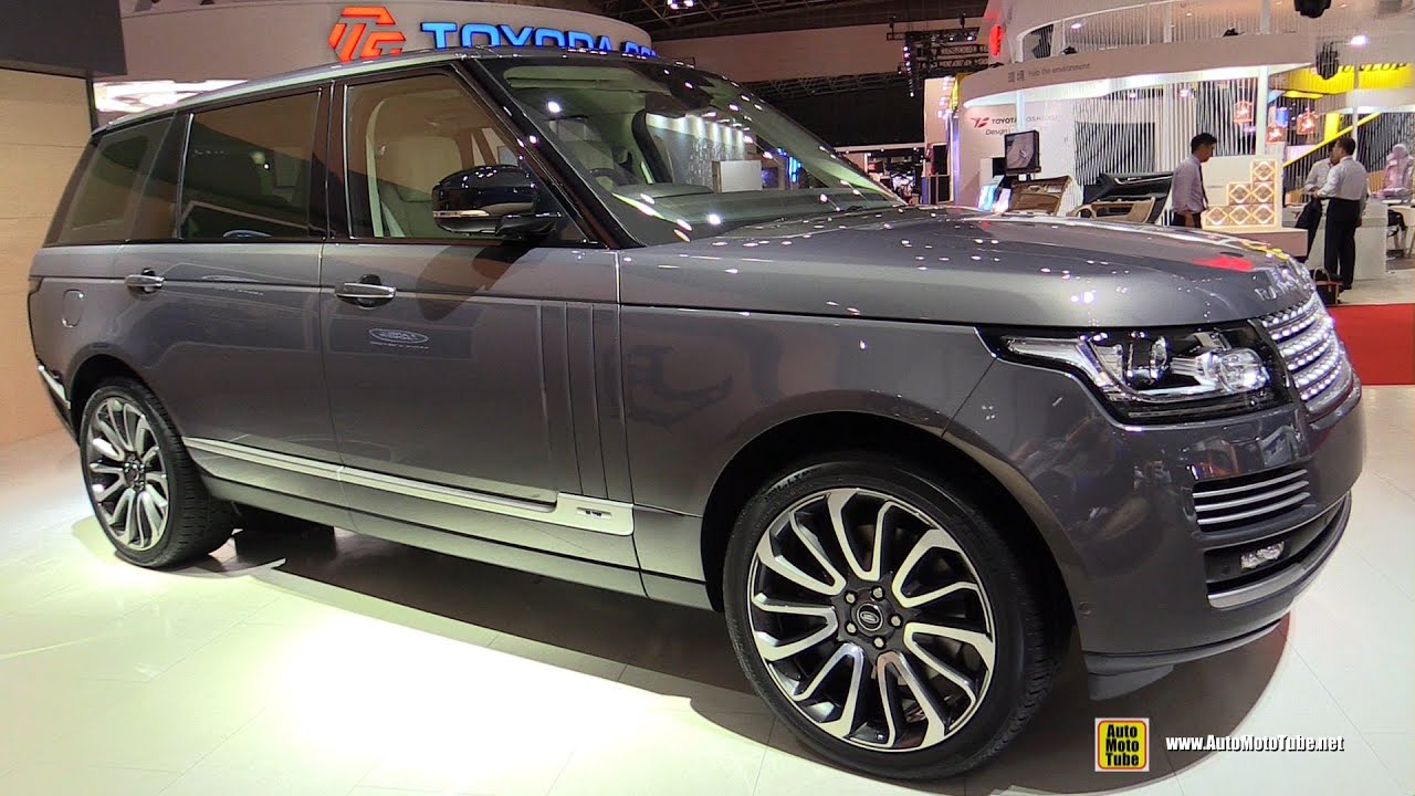 2016 Range Rover Autobiography Exterior And Interior