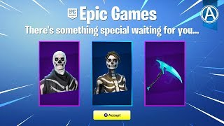 "NOUVEAU ""SKULL TROOPER"" SKIN BUNDLE! (Fortnite Battle Royale)"