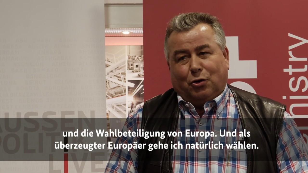 Download Bürgerdialog: Andreas Kindl vom Auswärtigen Amt bei BASF in Düsseldorf