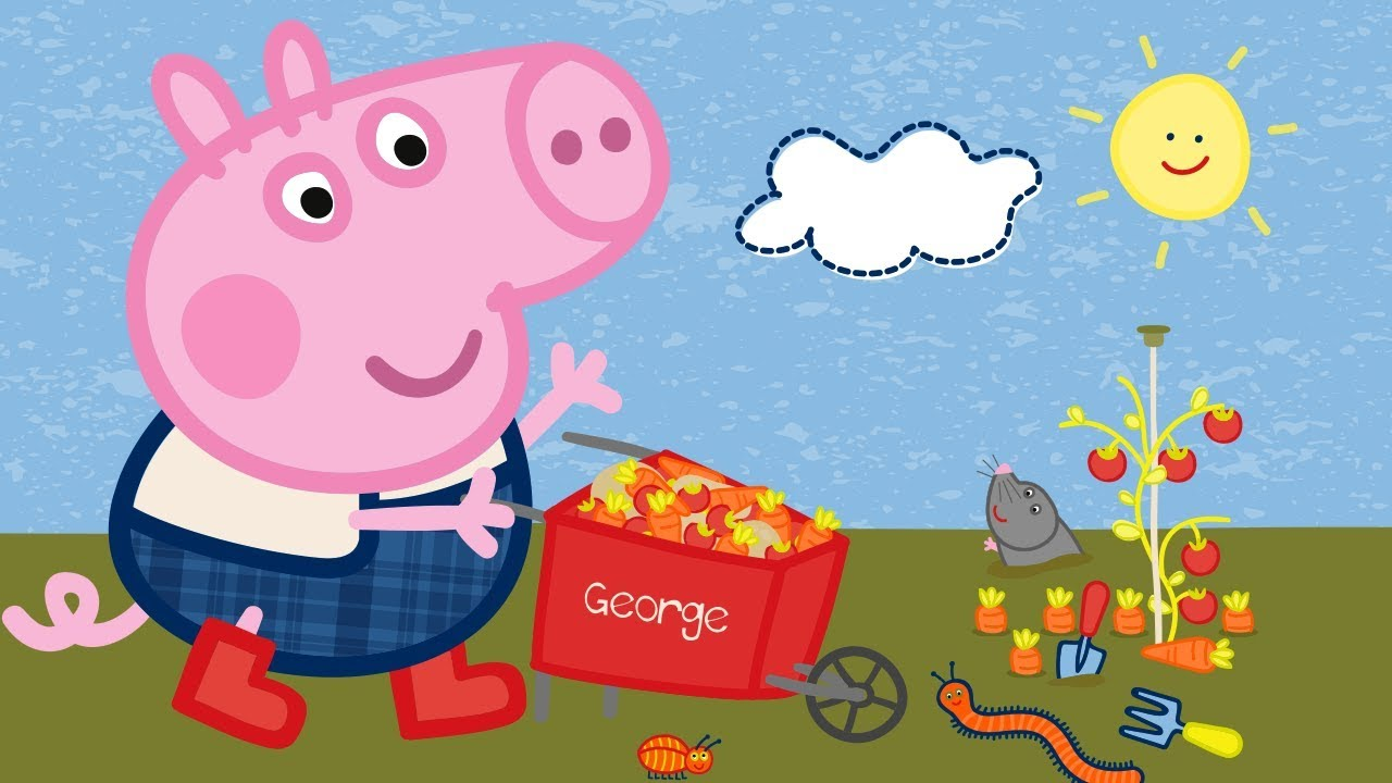 peppa pig english episodes up in space with peppa pig cartoons
