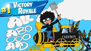 Fortnite Funny Clips and Kills Montage ALL ABOARD THE BOT TRAIN ft ChefboyRClutch