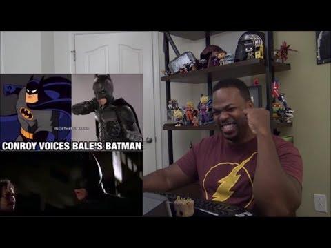 Kevin Conroy Voices Christian Bale's Batman REACTION!!!